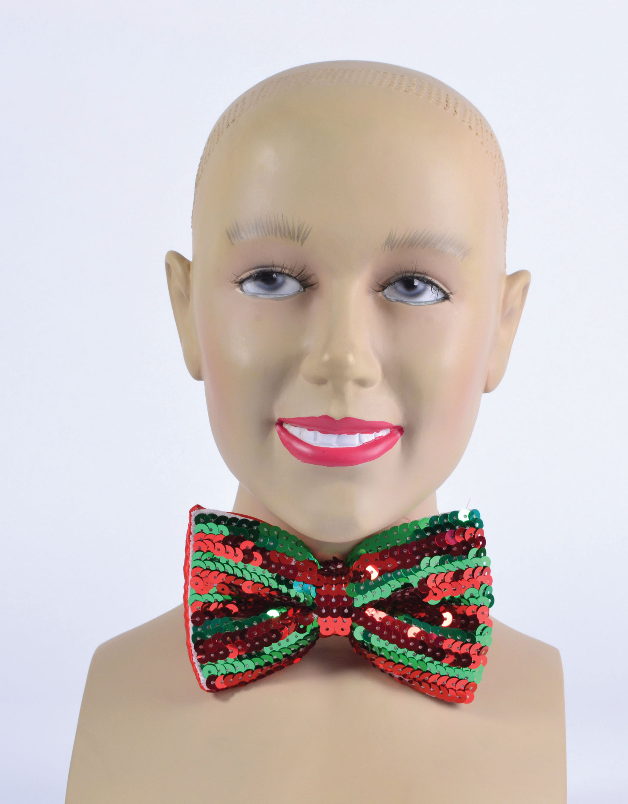 Christmas Sequin Bowtie